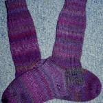 Lila Socken