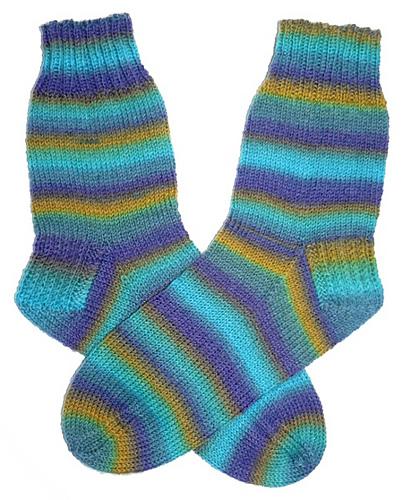 Wellen-Socken