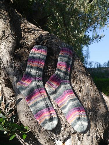 Feuerland-Socken