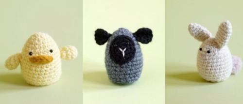 Schaf Küken Hase