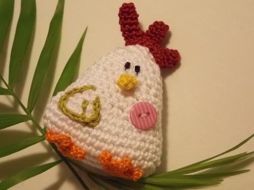 Eierwaermer Huhn