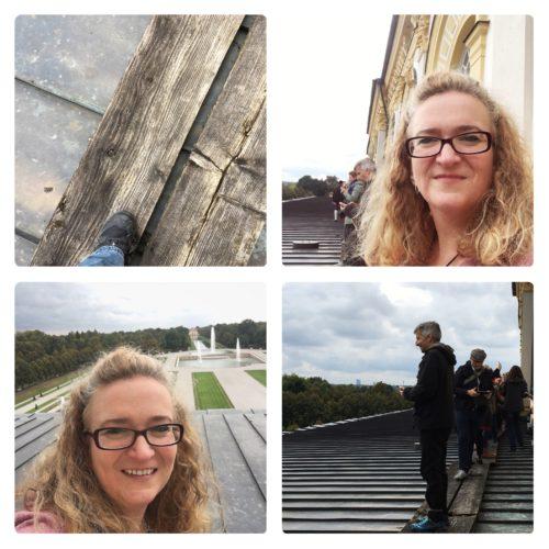 Selfies auf dem Dach