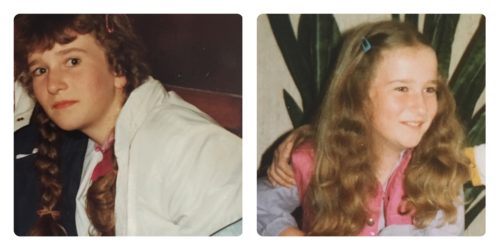 als ich zehn Jahre alt war - so sah ich damals aus