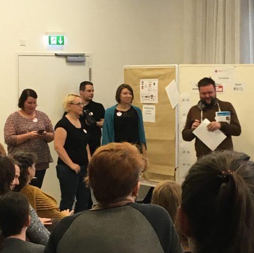 Orga-Team des Yarncamp 2016