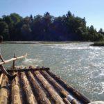 Floßfahren auf der Isar